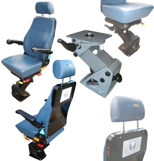 Pneumatic Driver Seat