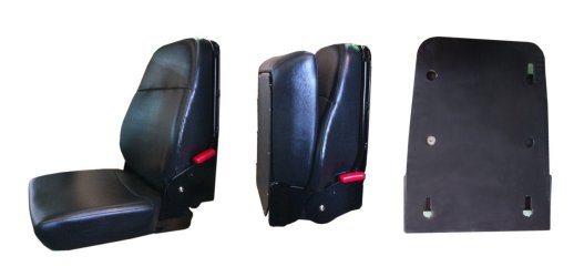 Wall Mounted Folding Seat